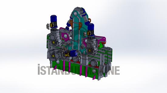 Withdrawal Straightener Machine Continuous Casting Machine