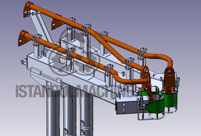 Arc Furnace Electrode Arms