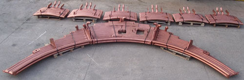 Water Cooled Copper Panel