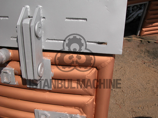 Water Cooled Copper Panels EAF