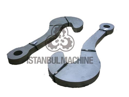 Ladle Tilting Hook